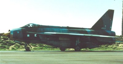 8964M was a Lightning F6 in use at Laarbruch for BDR and ground handling training