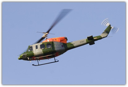 This AAC Bell 212 wears a reasonably prominent serial on the boom